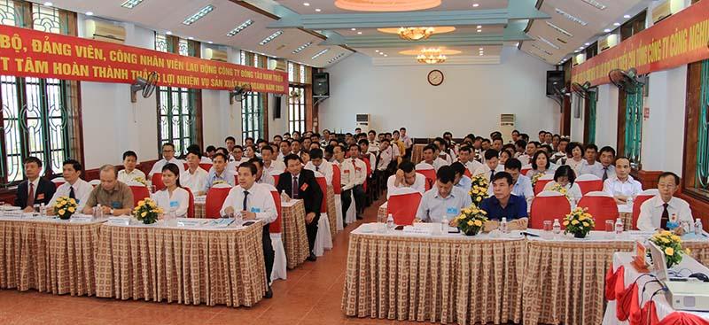 Công ty Đóng tàu Nam Triệu: Đại hội đại biểu Đảng bộ lần thứ XV nhiệm kỳ 2020 – 2025