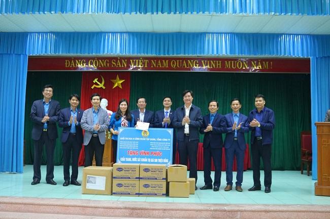 Công đoàn Công nghiệp tàu thủy Việt Nam chung tay đẩy lùi dịch Covid-19